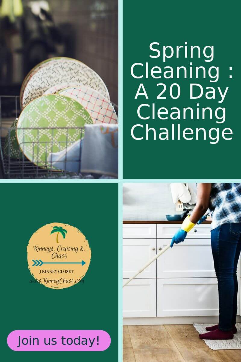 Spring Cleaning: A 20 Day Cleaning Challenge