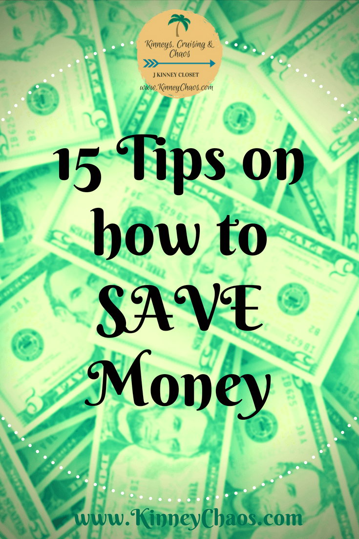 15 Tips on How to Save Money