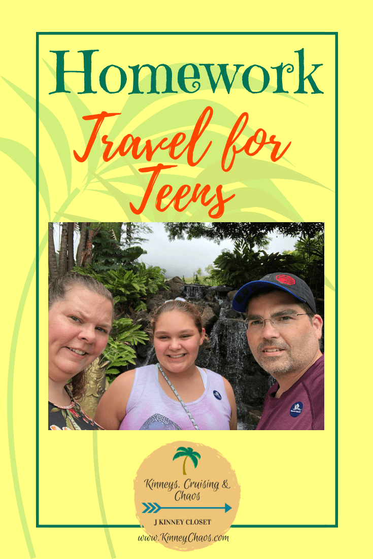 Homework: Travel for Teens