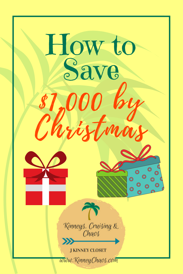 How to save $1,000 by Christmas