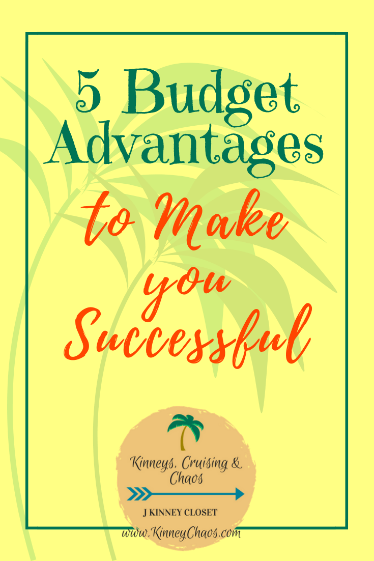 If you struggle with understanding why you need a budget then this is a must read. This will help you understand 5 budget advantages to make you successful. 
