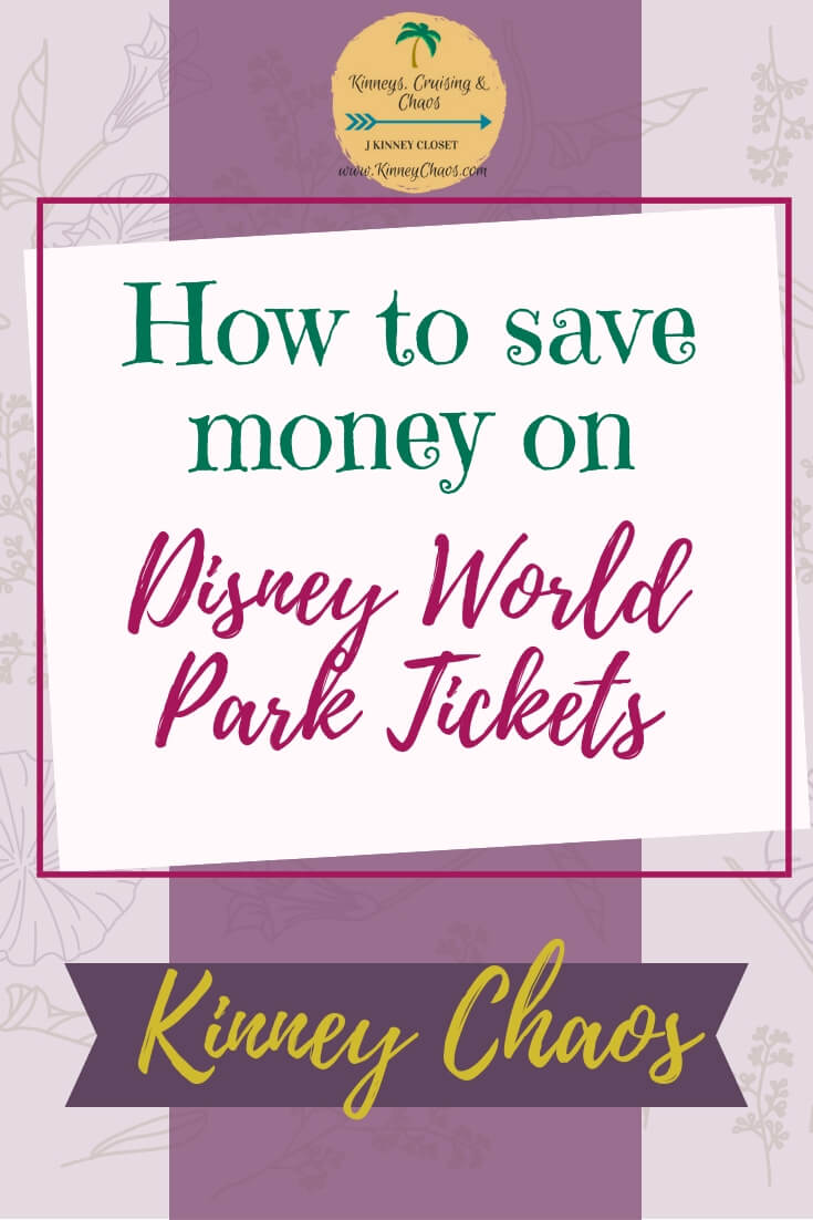 Disney World Park Tickets