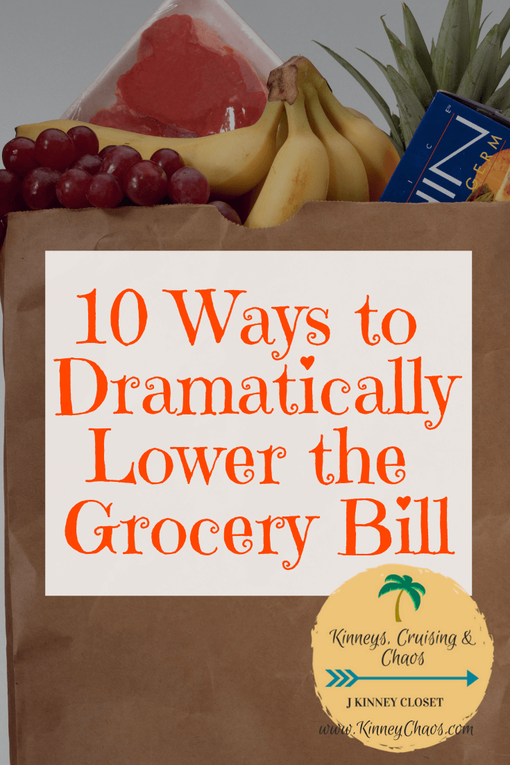 10 Ways to Dramatically Lower the Grocery Bill