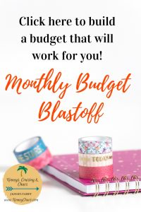 Click to get our Monthly Budget Blastoff course! #budget #monthlybudget #personalfinance #finances