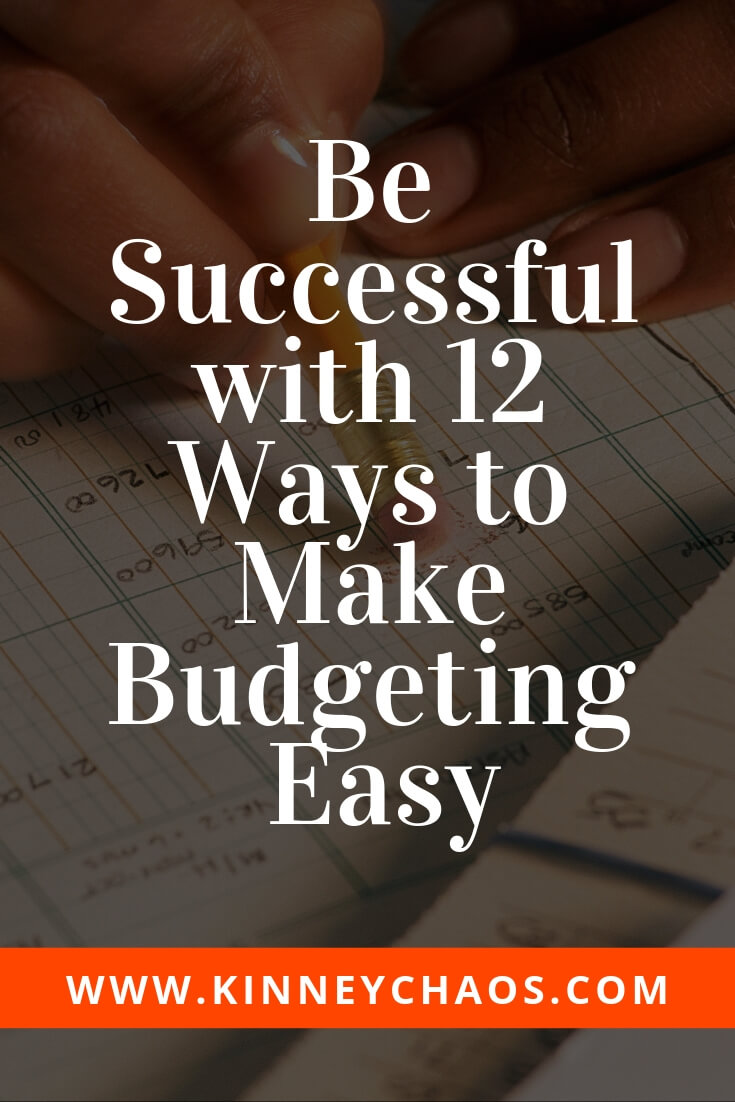 Share with your family and friends to help them be successful, then come and read our article on how to make budgeting easier. You can be Successful with 12 ways to make budgeting easy. How to make budgeting easy on you and your family! #budget #finance #family