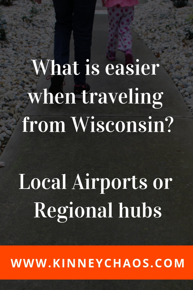 What is easier when traveling from Wisconsin? Local airports or regional hubs. Come and read about what we prefer.  #airport #minneapolis #chicago #milwaukee #regional #travel #travelhacking
