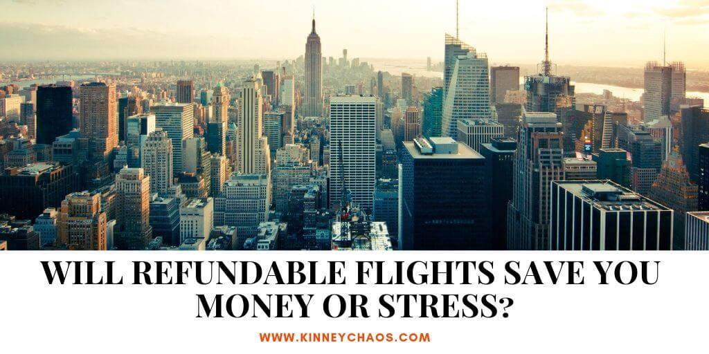 Will Refundable Flights Save you Money or Stress? #flight #savemoney #delta #southwest #airline