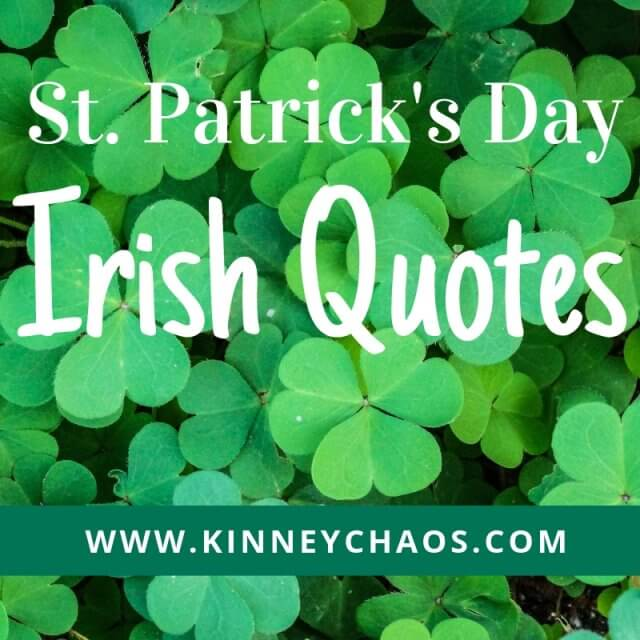St. Patrick's Day Irish Quotes