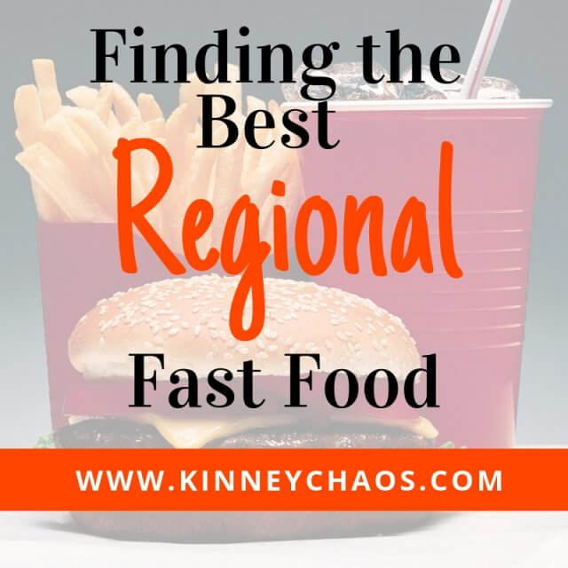 Finding the best regional fast food