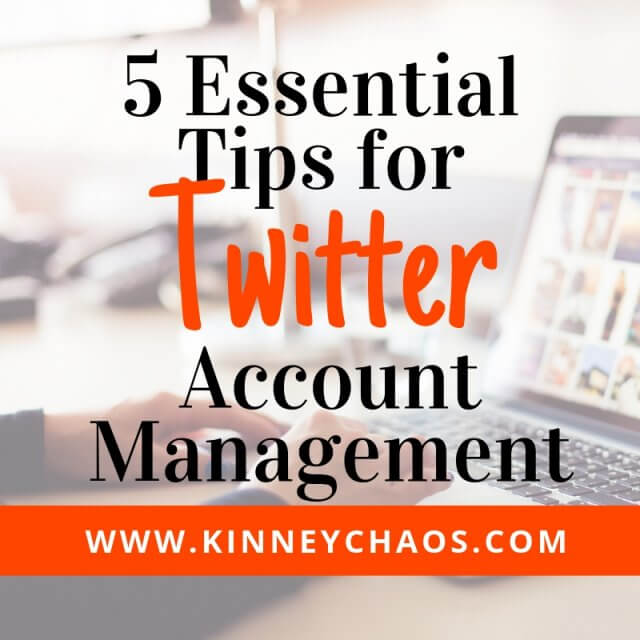 Five Essential Tips for Twitter Account Management #twitter #socialmedia #socialtips #socialmediatips #directsales