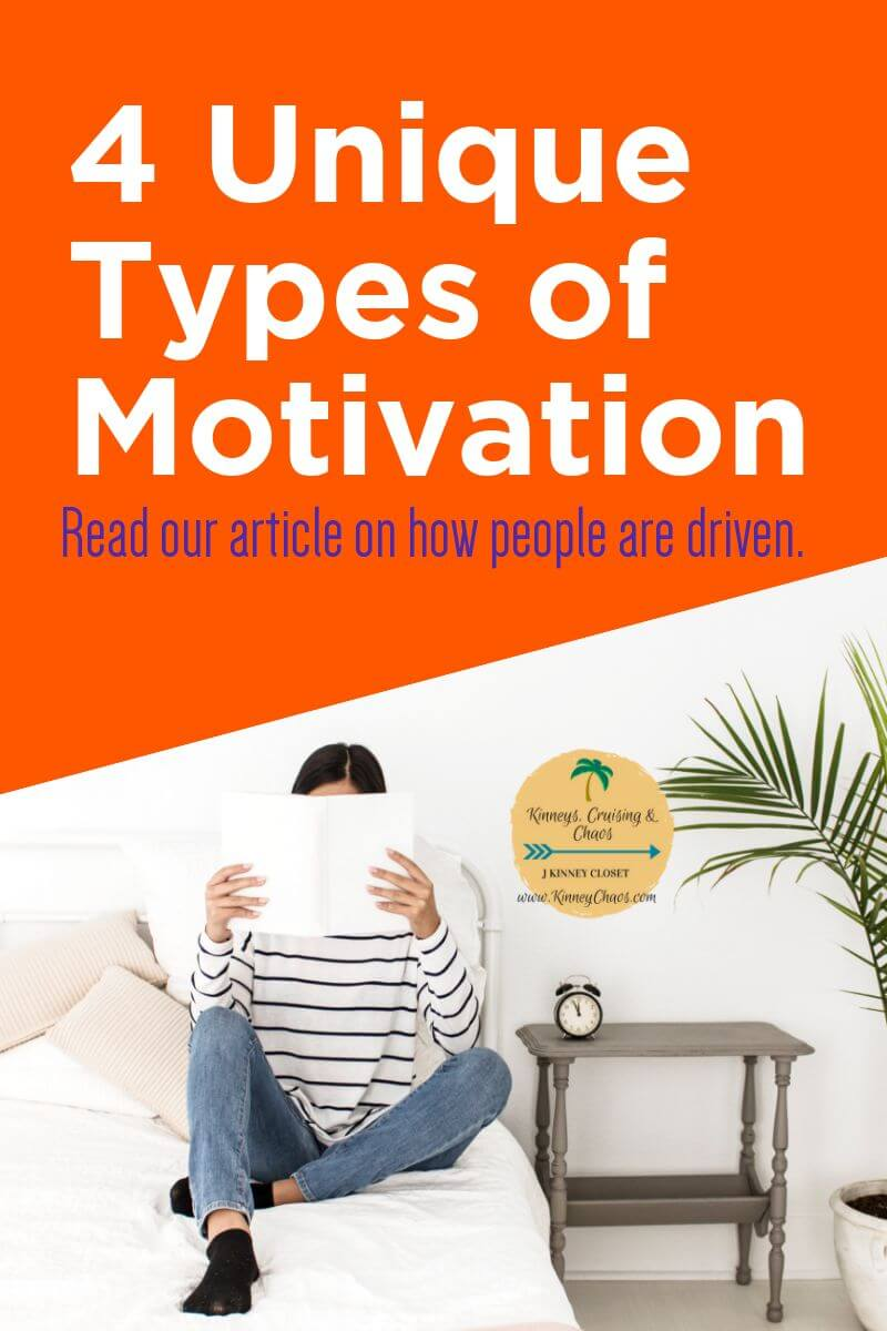Come and read about the 4 Unique Types of Motivation that drive people. This article should help you figure out how to motivate others. #motivation #leadership #mindset