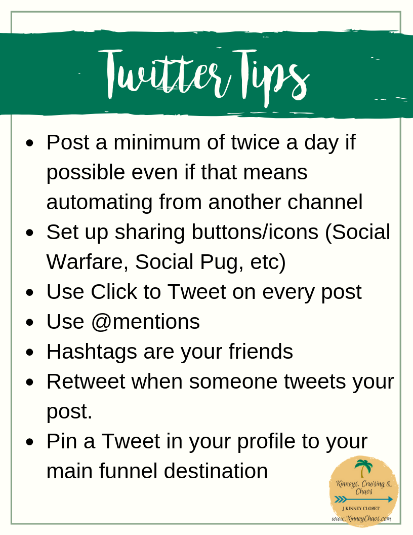 Twitter Tips to help you get started. Being successful on Twitter means having a strategy.