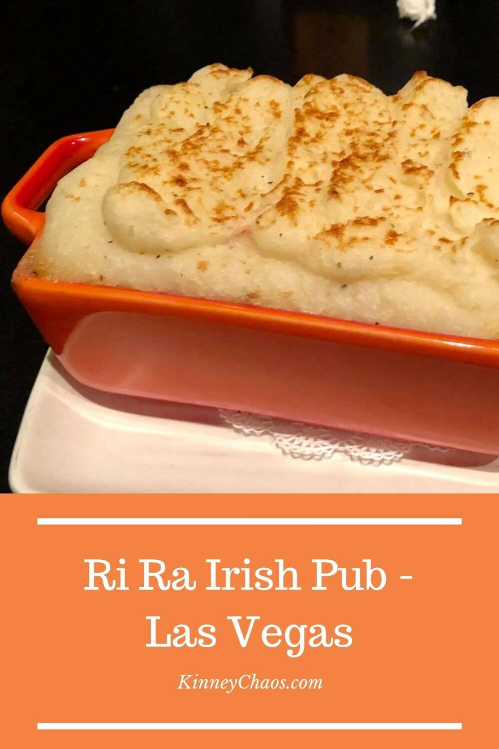Ri Ra Irish Pub - A great place to eat with good food, good service, and AMAZING dessert.