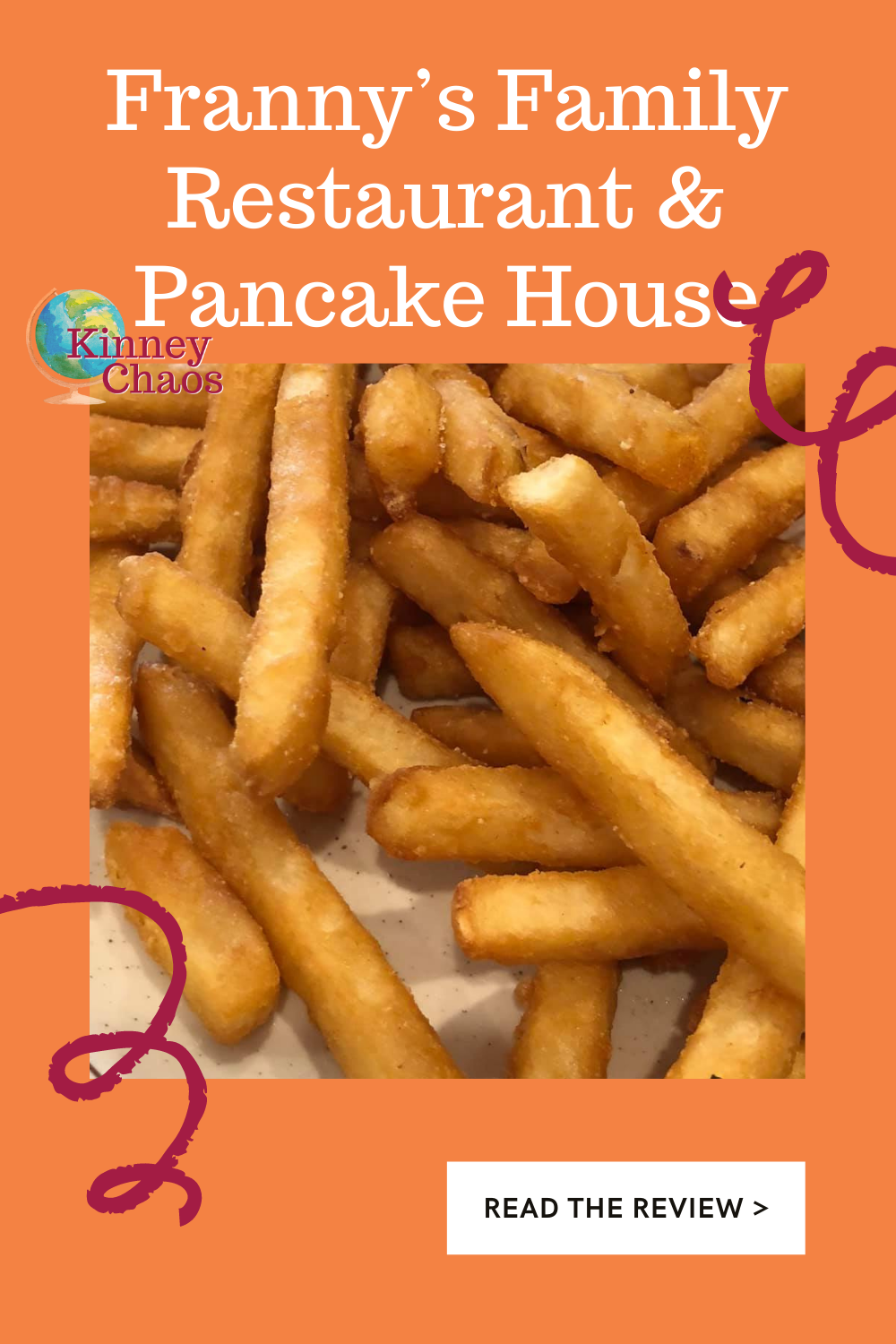 Breakfast food is comfort food, and we are always searching for a great place to get that warm, homey feeling. Welcome to Franny's Family Restaurant & Pancake house!